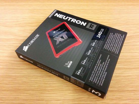 Fotografie Corsair Neutron XT 240 GB