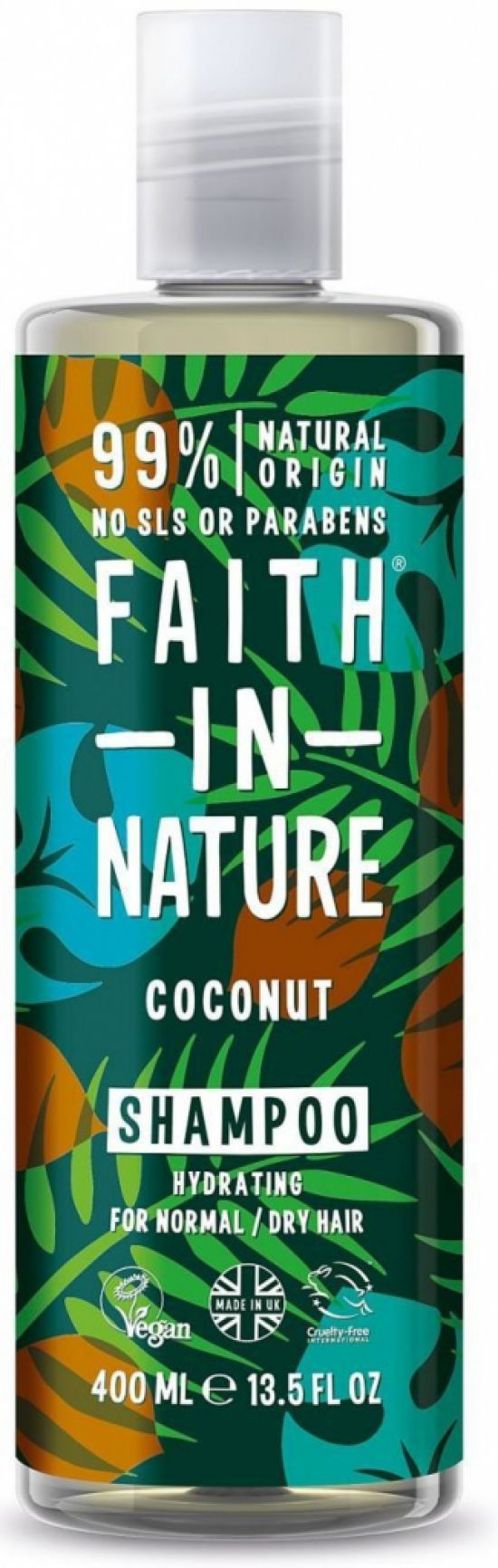 Fotografie Faith in Nature -  Coconut a Aloe Vera sampon a kondicioner