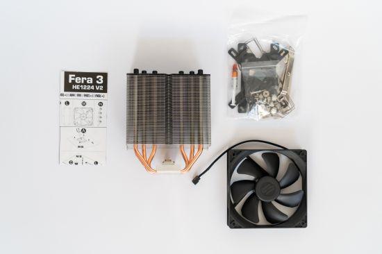 Obsah balení chladiče SilentiumPC Fera 3