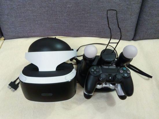Fotografie Sony PlayStation VR