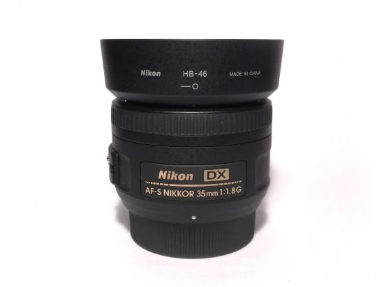 Fotografie objektivu Nikon 35mm f/1,8G AF-S DX