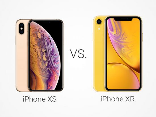 Fotografie Apple iPhone XS vs XR
