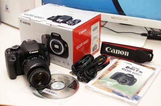 Fotografie Canon EOS 600D