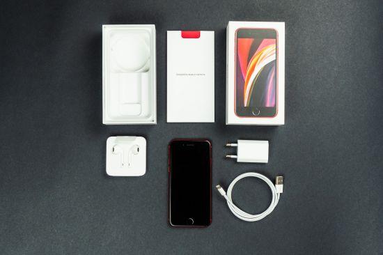 Obsah balení Apple iPhone SE 2020